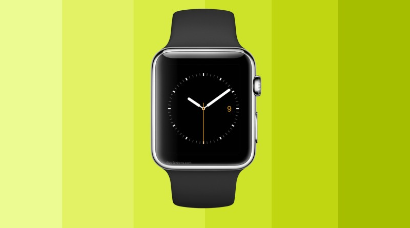 Apple Watch Sport Screen