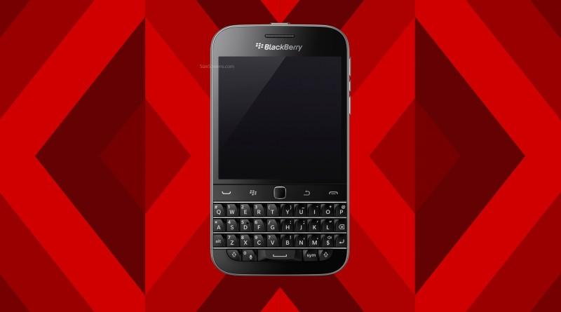 BlackBerry Classic Non Camera Screen