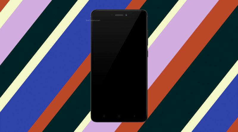 Xiaomi Redmi Note 4 2017 Screen