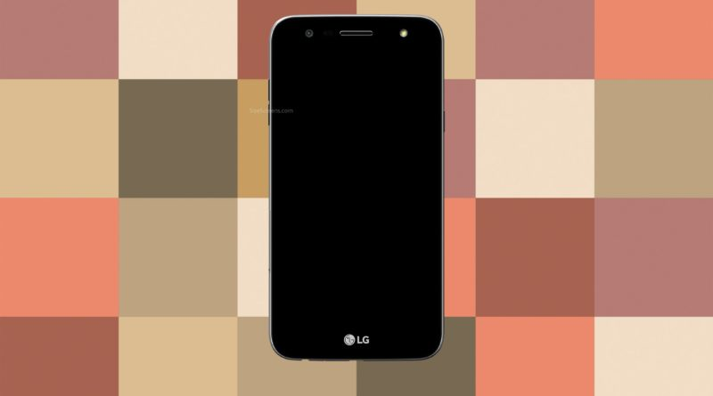 LG X power 2 Screen