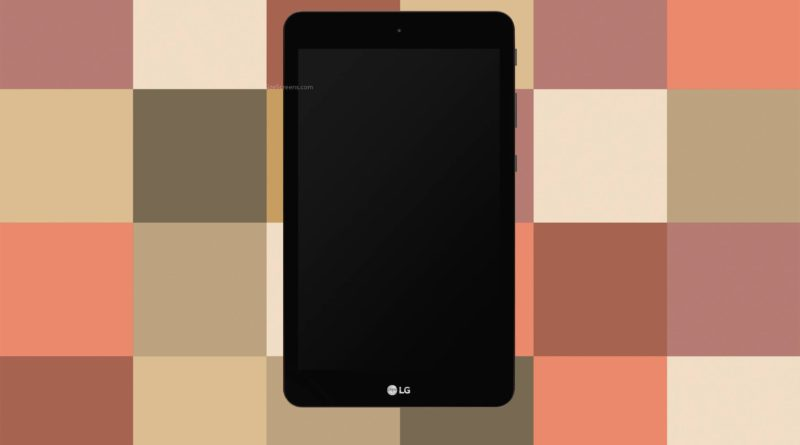 LG G Pad IV 8.0 FHD Screen