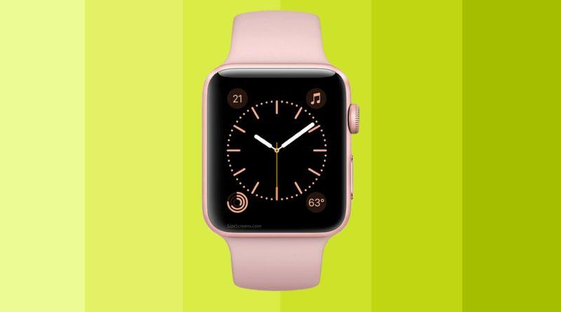 Apple Watch Series 1 Screen