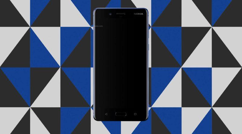 Nokia 8 Screen